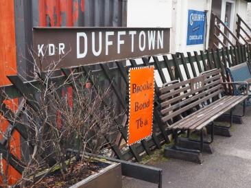 Ancienne gare de Dufftown